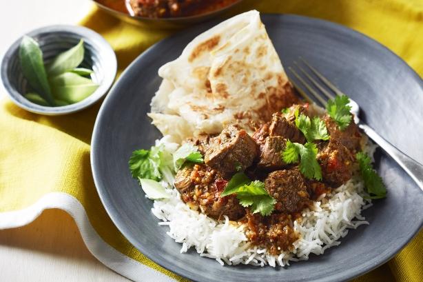 Sri Lankan beef curry