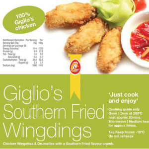 Giglos Fried Wingdings